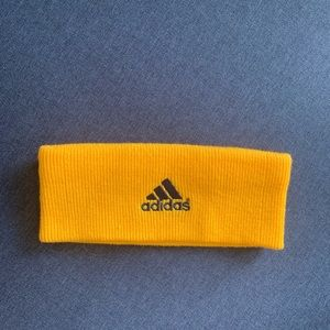 Adidas Ear Warmer Headband Yellow OS